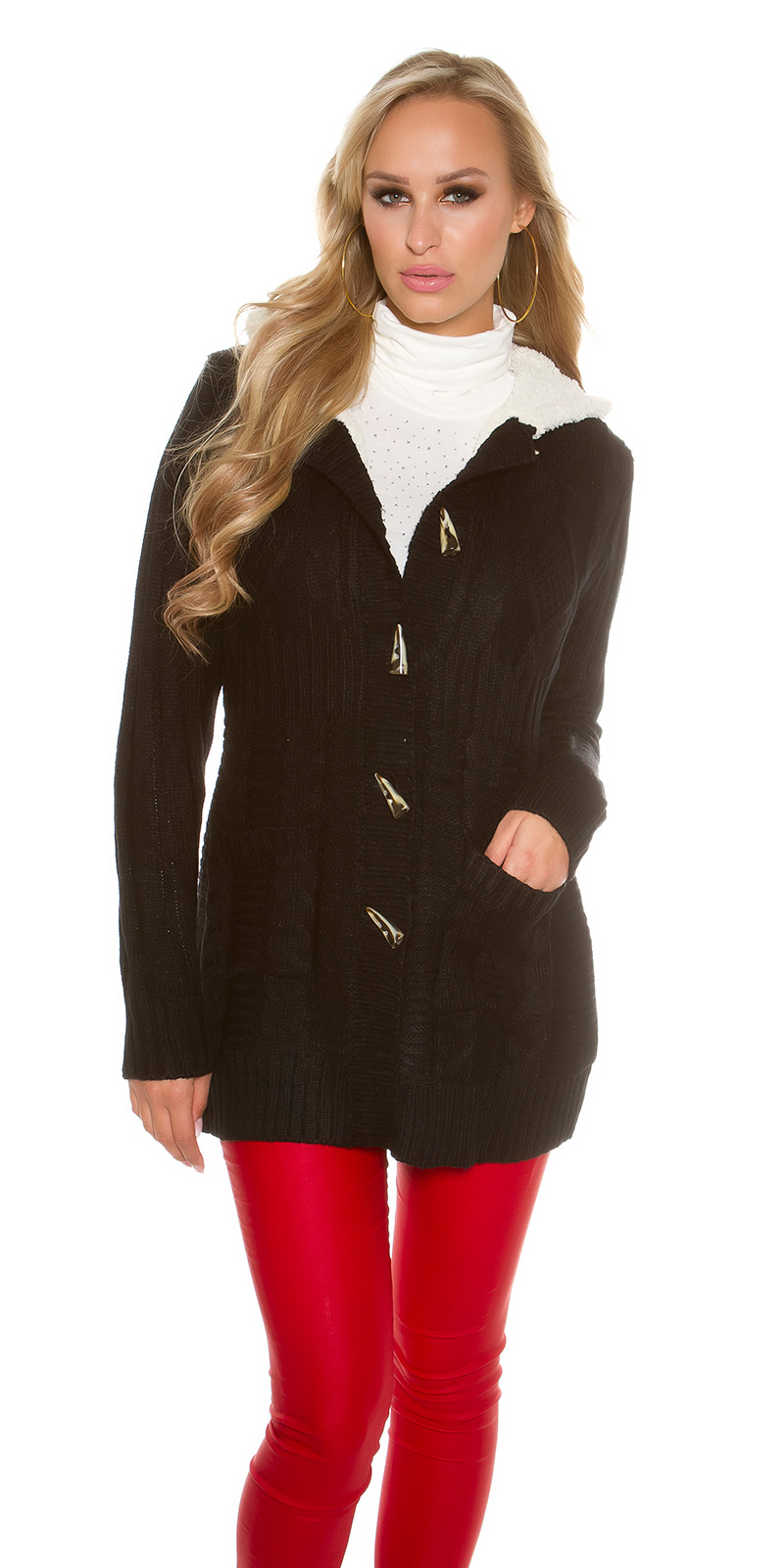Find black knit jacket at ShopStyle. Shop the latest collection of black knit jacket from the most popular stores - all in one place.