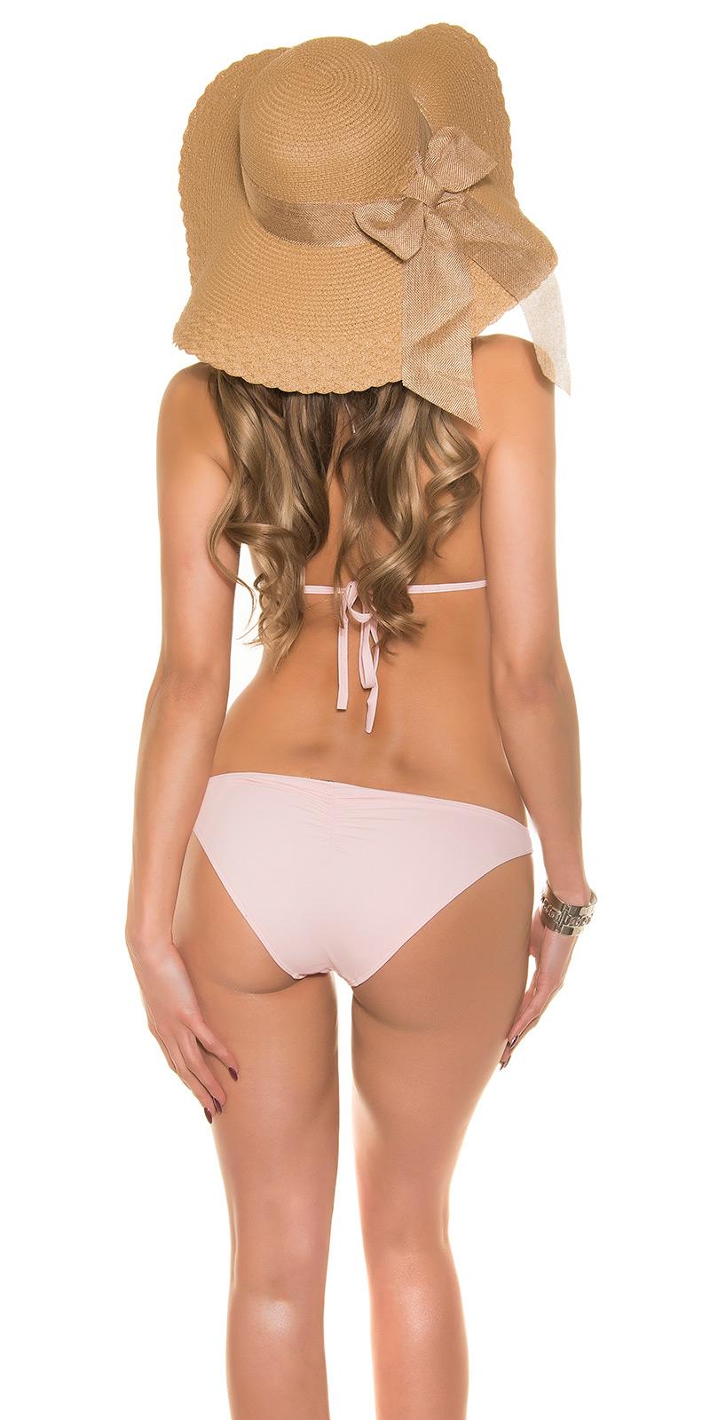 Cuello de cisne push-up bikini Triangle pedrería Brazil Beachwear tankini traje de baño