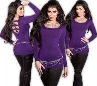 ooKouCla_fineknit-longsweater_wit_zip__Color_PURPLE_Size_Onesize_0000ISF8020_LILA_34_1.jpg